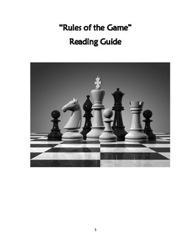 "Language! Level E- ""Rules of the Game"" Reading Guide"