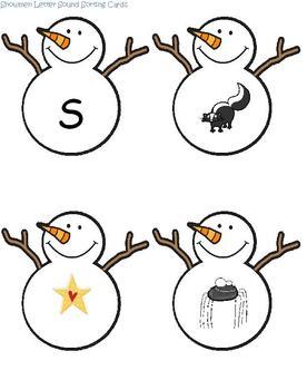 Language, Literacy and Art Fun with Snowmen