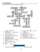 Language Live Level 1 Units 3,4,5 mixed vocabulary wordsearch crossword puzzles