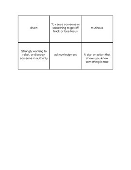 Language Live Vocabulary Memory Game Level 2 Unit 11 The Good Earth