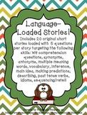 Language Loaded Short Stories- No Prep, No Print!!!
