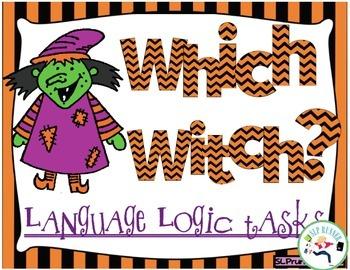 Language Logic - Halloween