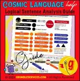 Sentence Analysis GUIDE - Montessori Language materials
