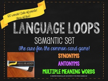 Language Loops: Semantic Set