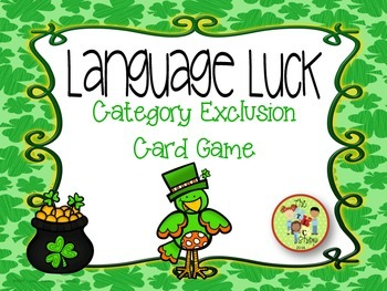 Language Luck - Category  Exclusion Game