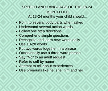Language Milestones (18-24 months)