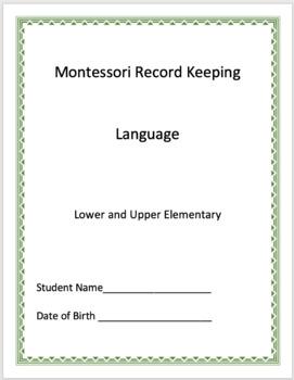 Language - Montessori Record Keeping