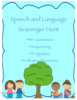 Language Nature Scavenger Hunt