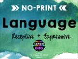 Language No Print No Prep