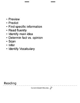 Language Objective Flipbook