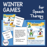 Winter Games for Speech Therapy