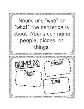 Language Pages for Interactive Journal {For 1st & 2nd Grade}