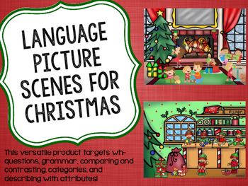 Language Picture Scenes for Christmas