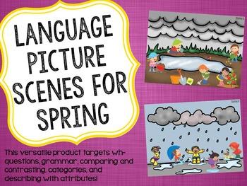 Language Picture Scenes for Spring
