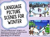 Language Picture Scenes for Winter