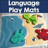 Language Play Mats: Toy Companion