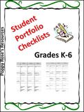 Language Portfolio Checklist K-6