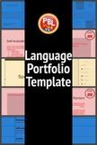 Language Portfolio Template