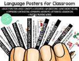 Language Posters: Functional Speech Therapy Bulletin Board