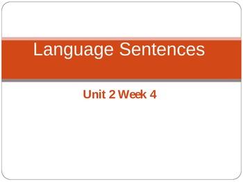 Language PowerPoint Unit 2 Week 4 Fifth Grade McGraw Hill Wonders