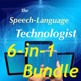 Language Bundle! Google Forms for Speech Therapy and English Language Arts