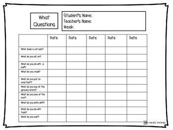 Language Practice Lists
