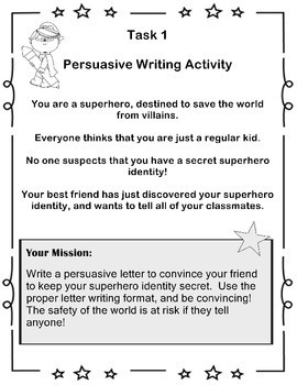 Language Center activity cards! SUPERHERO THEME! Grades 1-3!