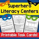 Language Center activity cards! SUPERHERO THEME! Grades 1-3!
