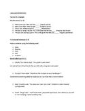 Language Processing & Auditory Processing Screening Instrument