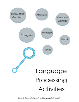 Language Processing Packet