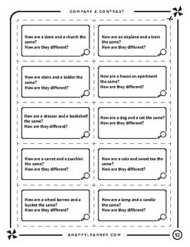 Language Processing (DESCRIBING) Task Cards for Speech Therapy