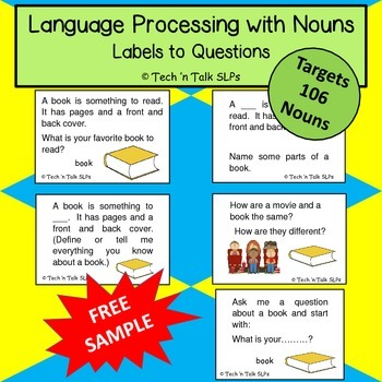 Language Processing with Nouns - Sample