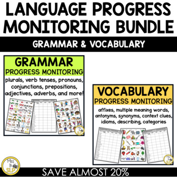 Language Progress Monitoring Probes Bundle K-6