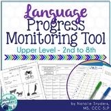Language Progress Monitoring Tool (Upper Level) for Speech