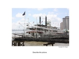 ESL: Describe a Picture:  New Orleans Steamboat