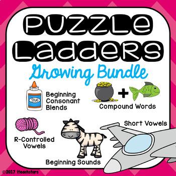 Puzzle Ladders: Growing Bundle