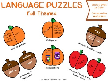 Language Puzzles - Fall Edition