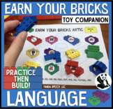 Earn Your Bricks Language Toy Companion: A Speech Therapy