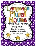 Language Regular & Irregular Plural Nouns: Printables with CCSS!!