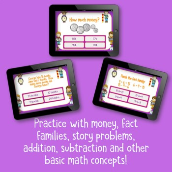 Mathematics Review BOOM Cards