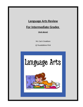 Language Review - Common Core Prep