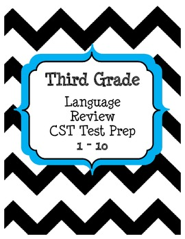 Language Review / ELA Test Prep 1-10