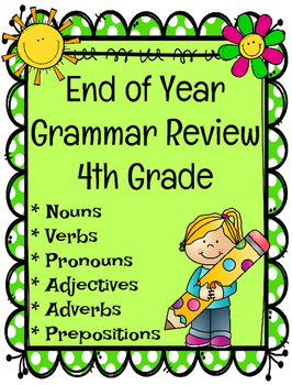 Grammar Review (End of Year)