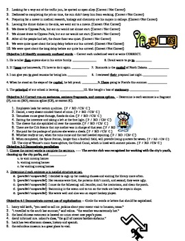 Language Review Packet