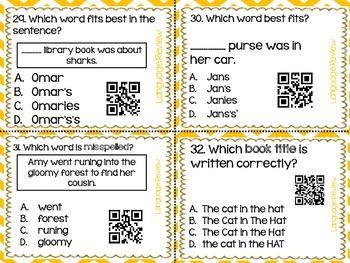 Language Review QR Codes
