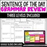 Grammar Review | Sentence of the Day *with Google Classroo