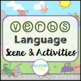 Verbs Language Scene Speech Therapy