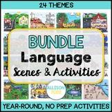 Language Scenes Speech Therapy GROWING BUNDLE No Prep