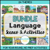 Language Scenes Speech Therapy GROWING BUNDLE No Prep
