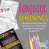 Language Screenings